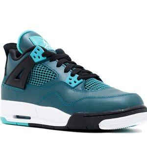 Nike Air Jordan 4 Retro Teal 30th Anniversary